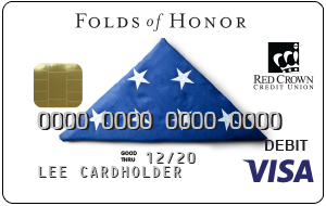 Folds of Honor Debit Card