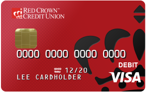 Red Debit Card