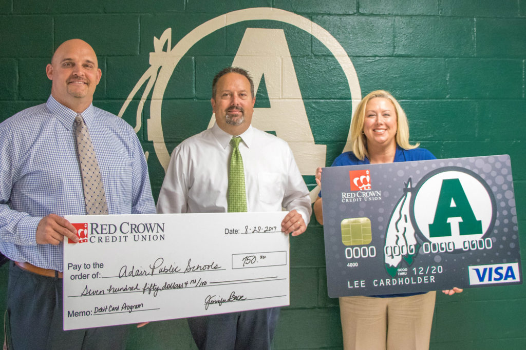 Adair Debit Cards From Red Crown Credit Union