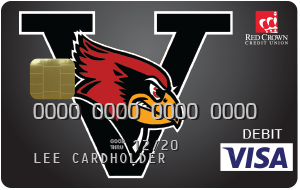 Verdigris Cardinals Debit Card